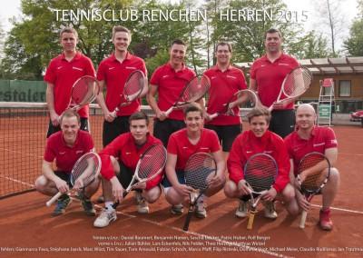 Herrenmannschaft 2015