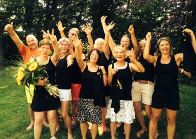 Damen 40 – Meisterschaft 2015