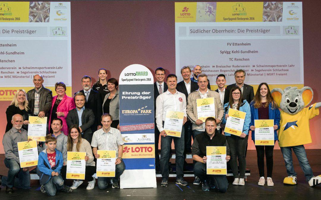 TC Renchen erhält Sportjugend-Förderpreis