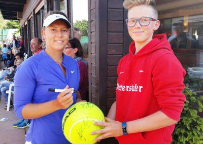Ausflug zum Bundesligaspiel beim TC Rüppurr 2017