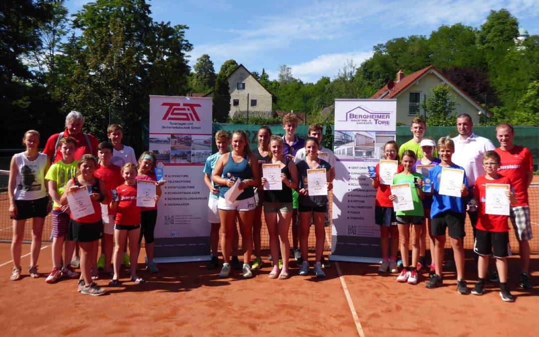 Sehr guter Tennissport beim 7. Renchen-Bergheimer Jugendcup