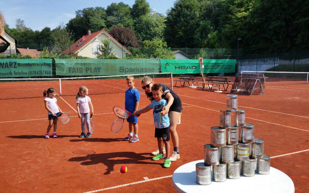 Kinder-Schnuppertag beim TC Renchen mit viel Spiel, Spaß & Action