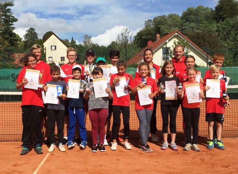 TC Renchen ermittelte die Jugend-Clubmeister