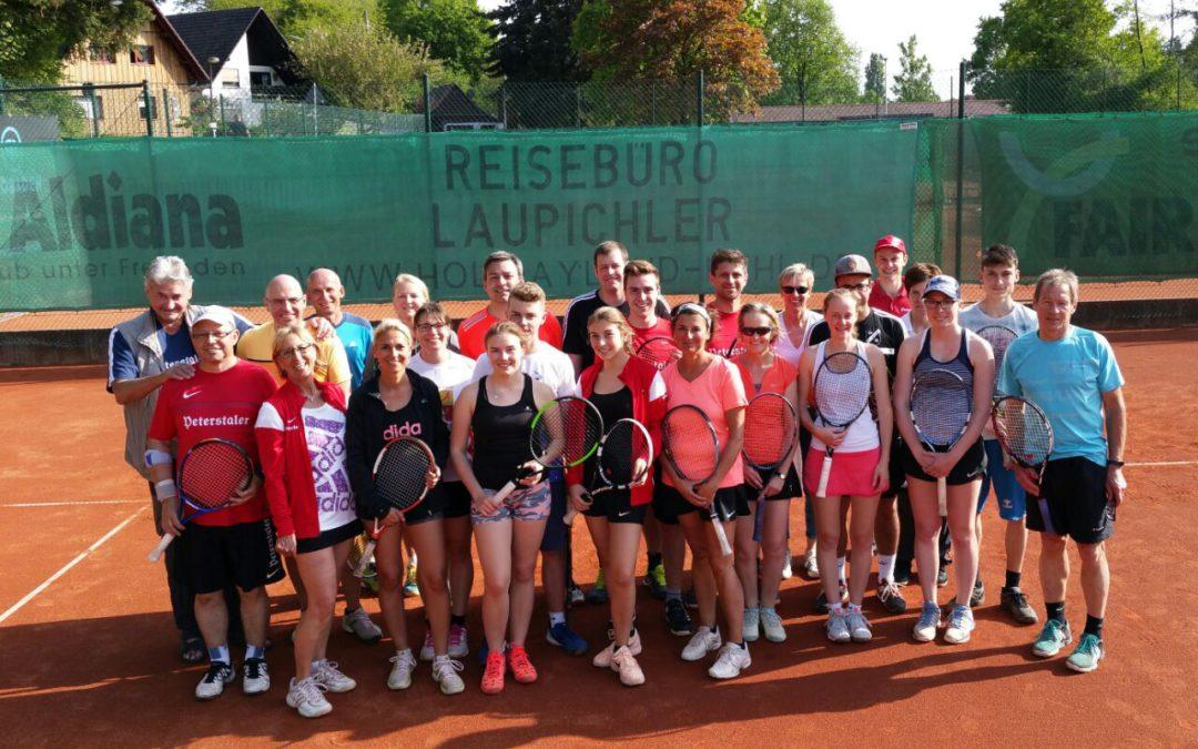 TC Renchen startete offiziell in die Tennissaison 2018
