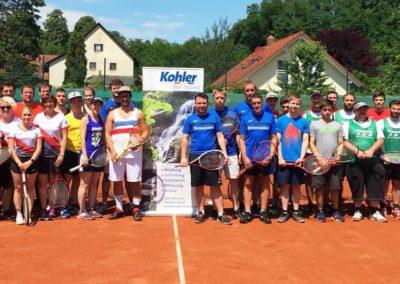 5. Tennis-Hobbyturnier powered by Kohler Bad und Heizung 2018