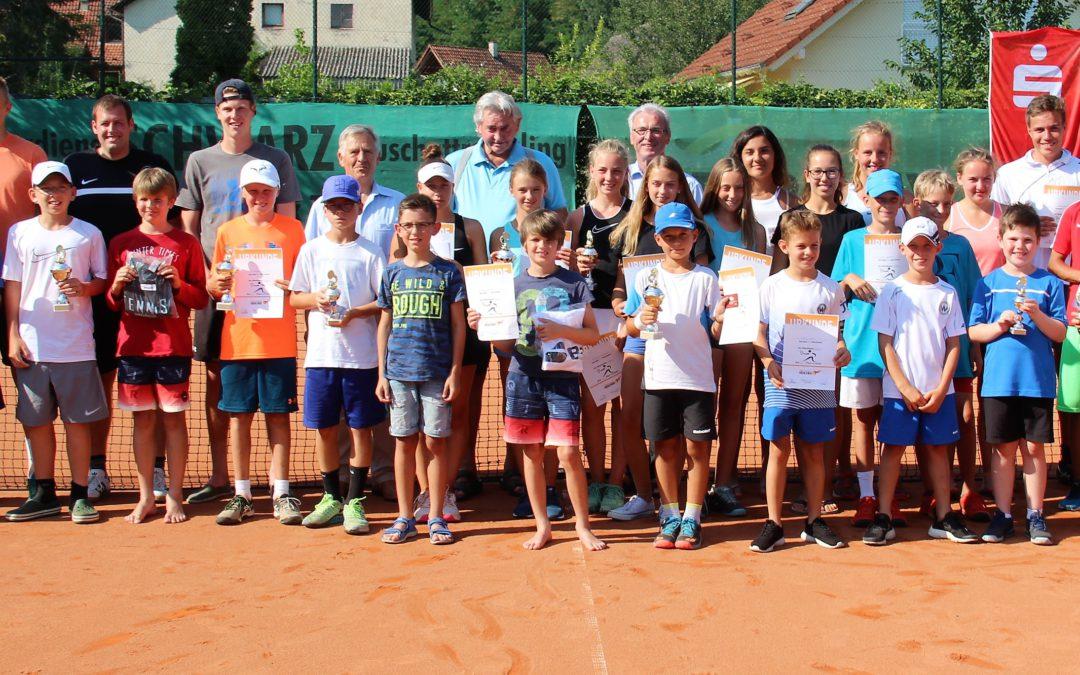 Sehr guter Tennissport beim 8. Renchener Sparkassen-Jugend-Cup