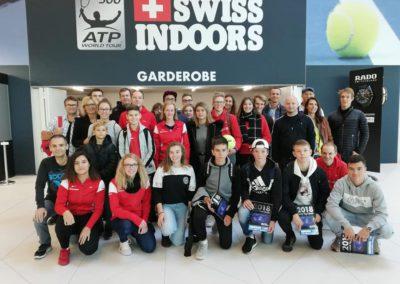 Ausflug zum ATP-Turnier in Basel 2018