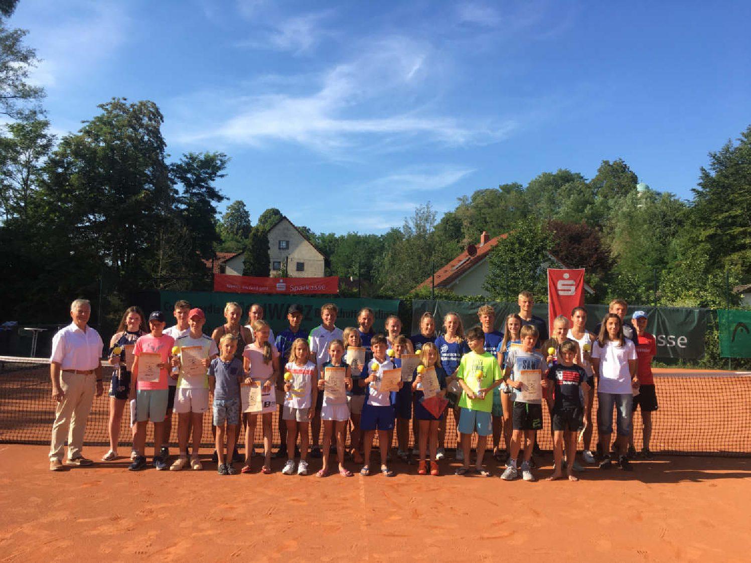 Sehr guter Tennissport beim 9. Renchener Sparkassen-Jugend-Cup