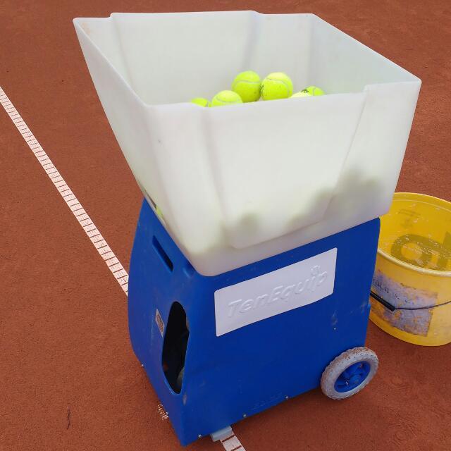 Unsere neue Ballmaschine