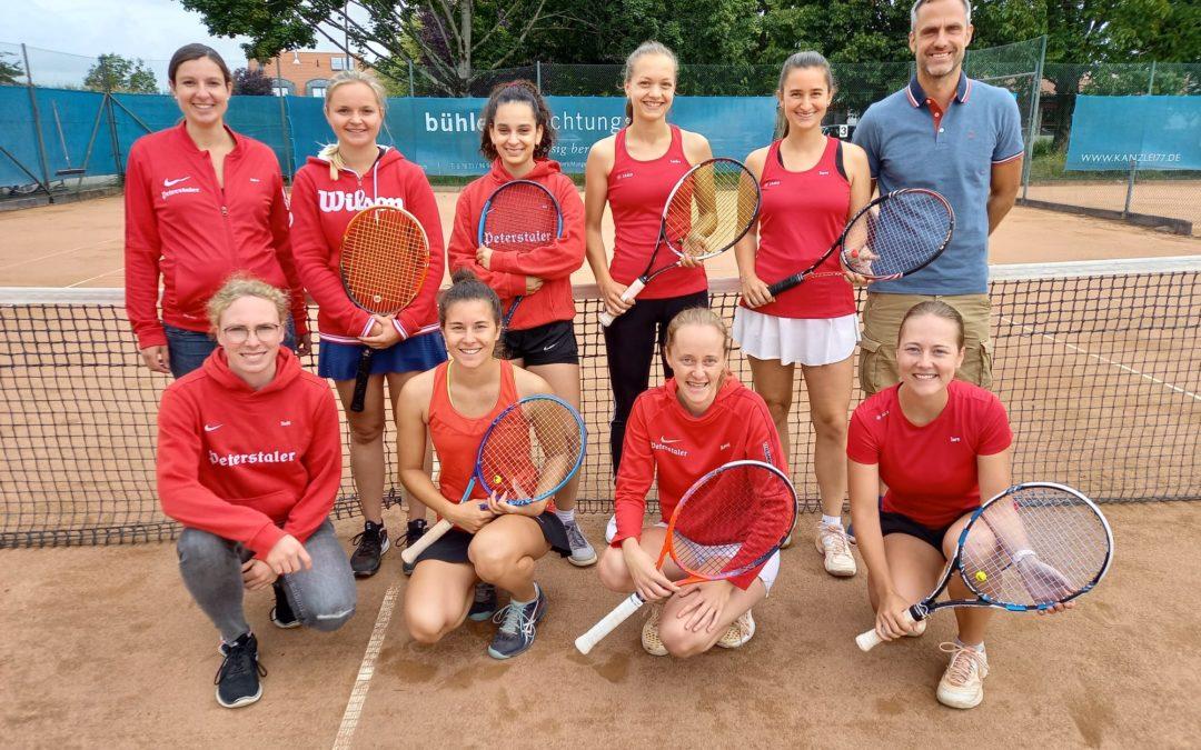 TCR-Damenfeiern Meisterschaft